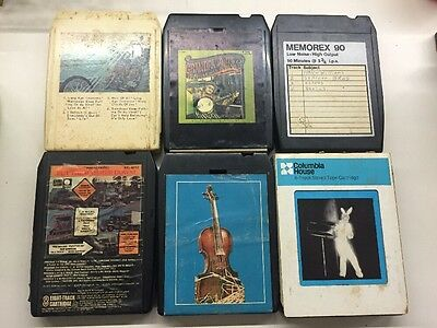 8-Track Tapes Lot of 6