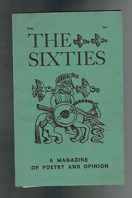 Duffy, William; Bly, Robert; The Sixties. Number 4 Fall 1960 VG
