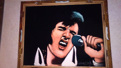 The Best Looking Elvis Presley Velvet Paintings Ever