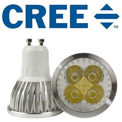 6 X MR16 9W CREE LED Bulb Globe Ceiling Downlight Spotlight Lamp 12V DIMMABLE