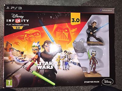 disney Infinity 3.0 STAR WARS Starter Pack - Playstation 3 PS3 - NEW & SEALED