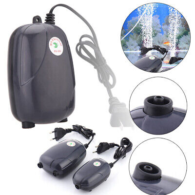 High Energy Efficient Aquarium Oxygen Fish Air  Tank Pump Super Silent 3W/5W
