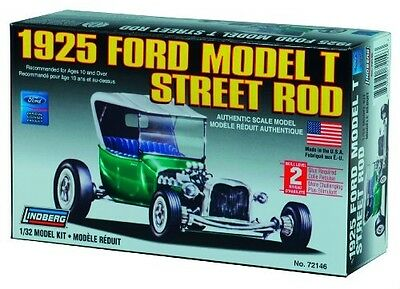 Lindberg 1:32 scale 1925 Ford T Street Rod Model Car Kit