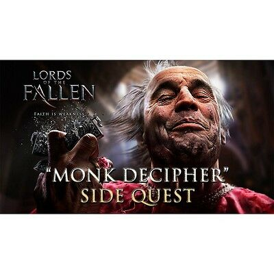 Contenuto aggiuntiv DLC THE MONK'S DECIPHER per LORDS OF FALLEN xboxone XBOX ONE