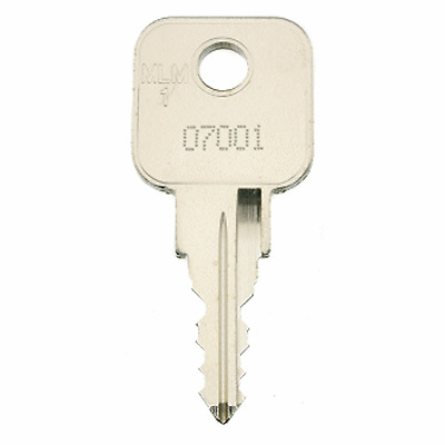 Lost Cabinet Keys? Replacement MLM LEHMANN Keys Cut To Code Number.