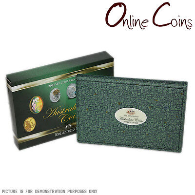 2004 Royal Australian Mint PROOF SIX COIN YEAR SET - Come Alive