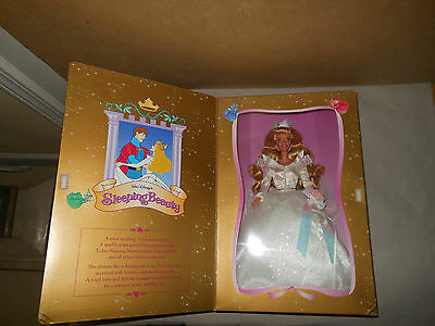 Disney Sleeping Beauty Wedding Sleeping Beauty Barbie Doll 1997  18057 Mint Nrfb