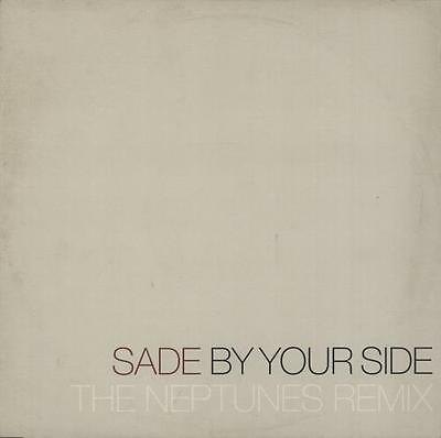"""Sade 12"""" vinyl single record (Maxi) By Your Side (The Neptunes Remix) UK promo"""