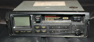 Vintage pyramid 20110-p car audio radio cassette player Sold AS IS