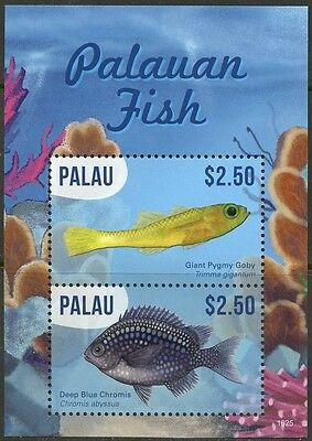 Palau 2017  Palauan Fish  Souvenir Sheet Mint Nh