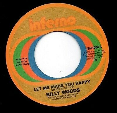 Let Me Make You Happy / I Can't Forget About You - Billy / Dec (2016, Vinyl New)