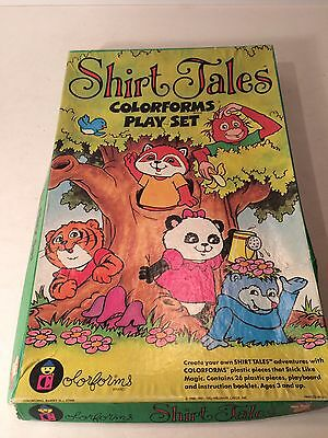 1980 Colorforms - Shirt Tales ( Missing Pieces)