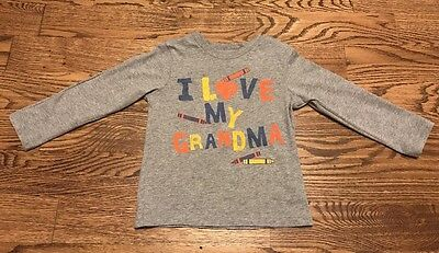 The Children's Place Toddlers boys gray graphic Long Sleeve Tee Size 3T