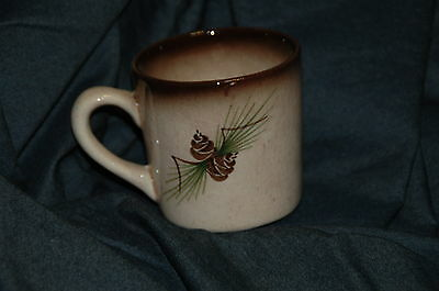 Vintage ROMCO Cup Hand Painted by Rocky Mountain Pottery Artist