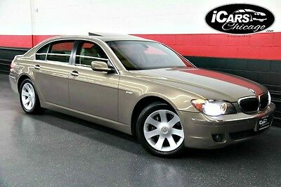 2006 BMW 7-Series  2006 BMW 750Li Navigation 2-Owners 48,914 Miles Luxury Seating Active Cruise WoW