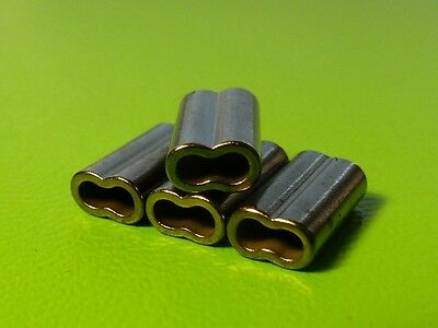 100x DFS COPPER CRIMPS, DOUBLE, 1.0mm x 8mm