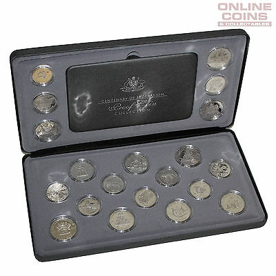 2001 RAM Centenary of Federation Proof 20 Coin Collection in Display Box