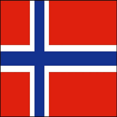 30 Custom Norway Flag Personalized Address Labels