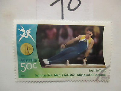 N o -70--2006 COMMONWEALTH  GAMES  -USED  50c  VALUES  ---A1  ORDER
