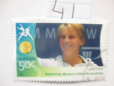N o -41--2006 COMMONWEALTH  GAMES  -USED  50c  VALUES  ---A1  ORDER