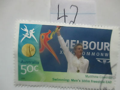 N o -42--2006 COMMONWEALTH  GAMES  -USED  50c  VALUES  ---A1  ORDER