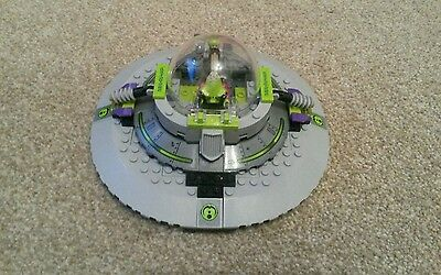 LEGO Alien Conquest 7052 Ufo INCOMPLETE NO INSTRUCTION