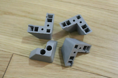 HP Agilent Instrument Rear Feet Kit      HP Corner Feet     instrument feet