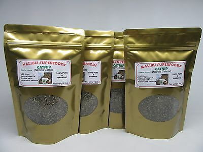 CATNIP 8oz Fresh Dried Coarse ground (Nepeta Cataria) Organic USA grown