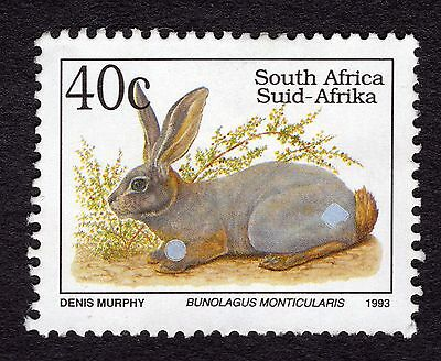 1993 South Africa 40c Riverine rabbit I SG809 FINE USED R33035