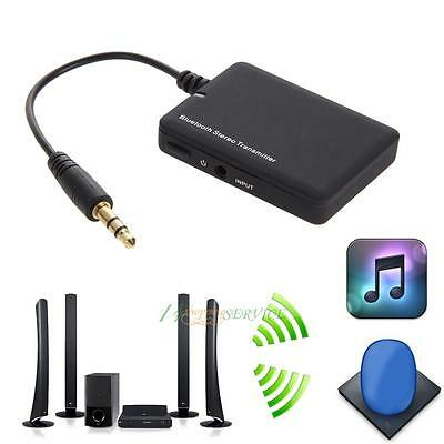 Wireless Bluetooth 4.0 Audio Stereo Music Receiver Transmitter Car Aux Adapter