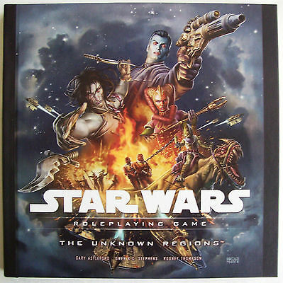 STAR WARS Role Playing Game RPG THE UNKNOWN REGIONS Book - New