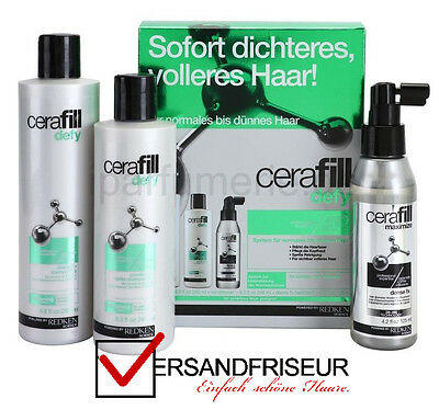 Redken Cerafill Defy Set / Kit - 660 ml - NEU und ORIGINAL