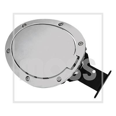 MAZDA MX5 MK3 2006 to 2015 soft top cars only CHROME FUEL FILLER LID - 904-414