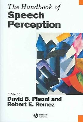 The Handbook of Speech Perception by Pisoni Hardcover Book (English)