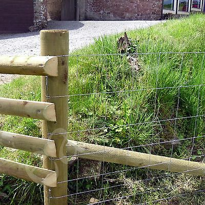 Stock Fencing M9/120/15 Sheep Pig Livestock Fence 50m Long 1.2m High Galvanised