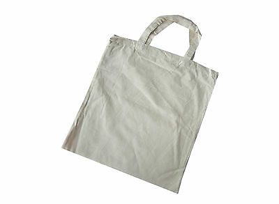 Calico Shopping Bags (Choice of Pack Sizes)
