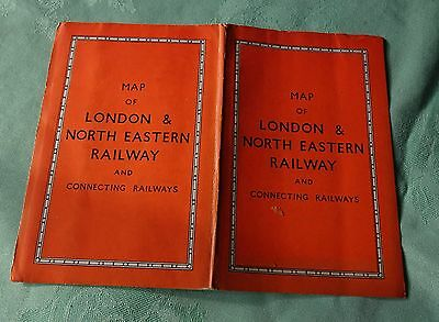 Map of London & North Eastern Railway 1930s