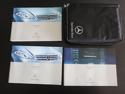 Mercedes A-Class W169 Owners Manual Handbook Pack & Wallet-2004-2008