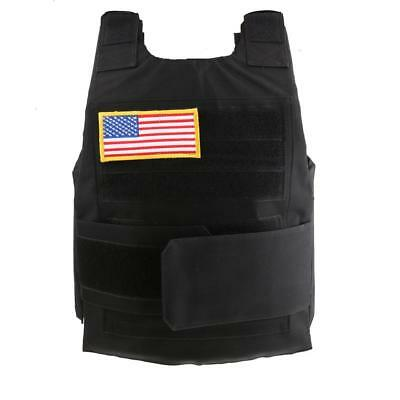 Lightweight Nylon Tactical Compact Vest Combat Training Vest Outdoor Hunting