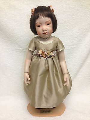 Beatrice Perini Artist Doll - Ambra - French Limoges Porcelain Jointed Doll