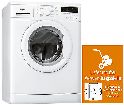 6-KG Waschmaschine,2in1-Display,A+++,Mengenautom,1400 U/m,Eco,Whirlpool AWO-6848