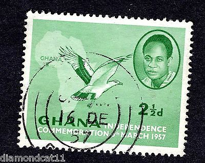 1957 Ghana 2.5d Independence Fine Used R26736