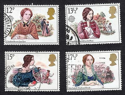 1980 Famous Authoresses SG 1125 to 1128 set Good Used R6890