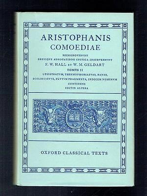Aristophanes; Hall; Geldart; Aristophanis Comoediae Vol II. Oxford. 1962 Good