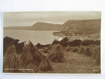 Vintage RP Postcard - Sidmouth From Salcombe Hill , Devon .