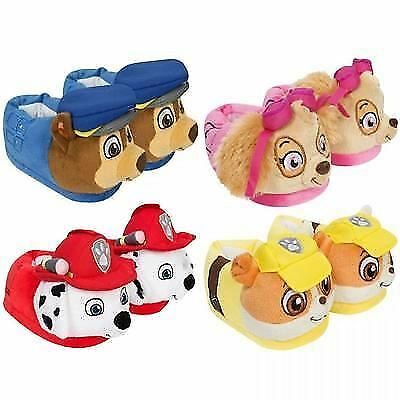 Paw Patrol Plush Boys Girls Kids 3D Slippers Chase Marshall Skye Shoes Sandals