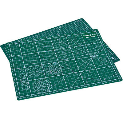 PVC Cutting Mat A4 Durable Self-Healing Cut Pad Patchwork Handmade 30x22cm SU