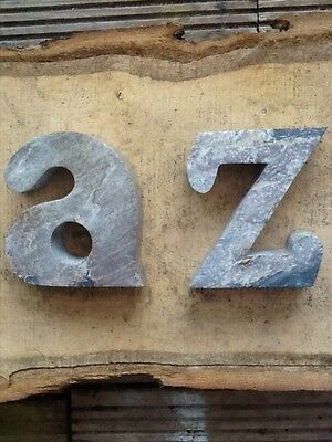 soap stone A Z bookends