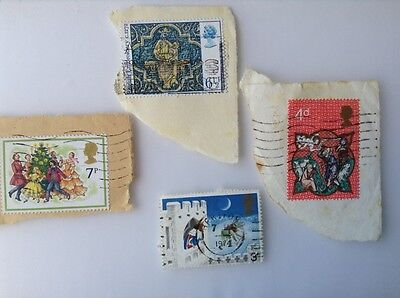 Great Britain Christmas Stamps,used