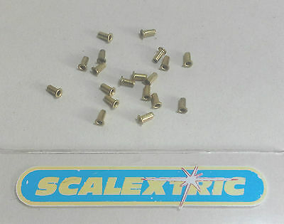 Scalextric 20 Guide Blade Brass Eyelets (NEW) Sadly no bag